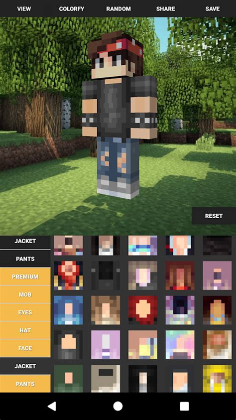 Kaos 3d Fullprint Premium Skin Jaket 1 custom skin creator for minecraft android apps on play