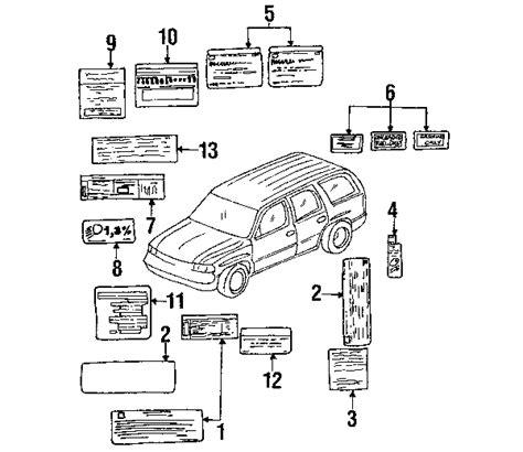 cadillac escalade parts diagram 2004 cadillac escalade parts gm parts department buy