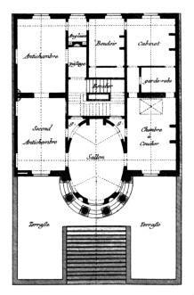 Le Design Sur Pied 1786 by Claude Nicolas Ledoux