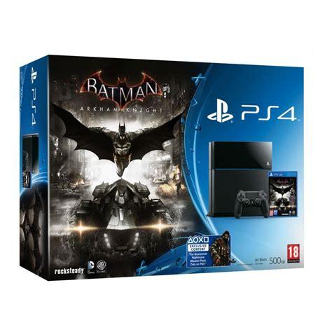 console sony ps3 500go batman sony playstation 4 batman arkham 0711719863137
