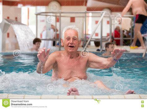 hot tub swinging old man in jacuzzi stock photo image of life holiday