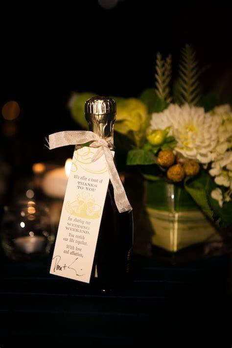 mini bottles prosecco wedding favors wedding favors