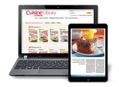 back issue library cuisine at home erecipes
