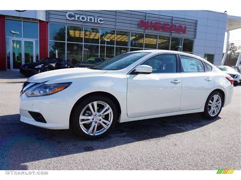 2016 Pearl White Nissan Altima 3 5 Sl 109503982