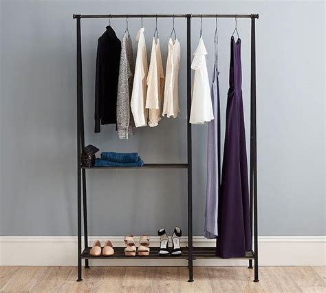 rack modern clothes hanging rack walmart ideas bedroom