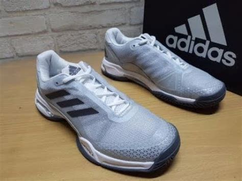 Sepatu Tenis Adidas Barricade unboxing review sneakers tenis adidas barricade club ba9152