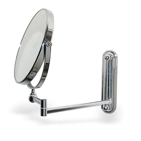 wall mounted extendable mirror bathroom extendable round wall mounted vanity shaving mirror