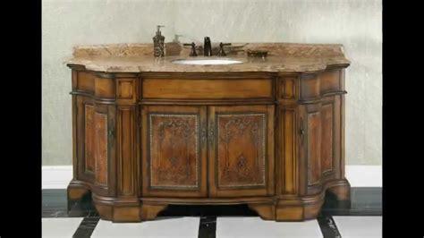 ornate traditional bathroom vanities    opulent  homethangscom youtube