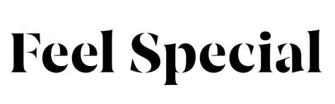 feel special font