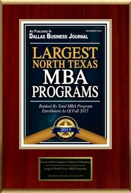 A M Mba Program by Mba Program Earn Your Mba A M Commerce
