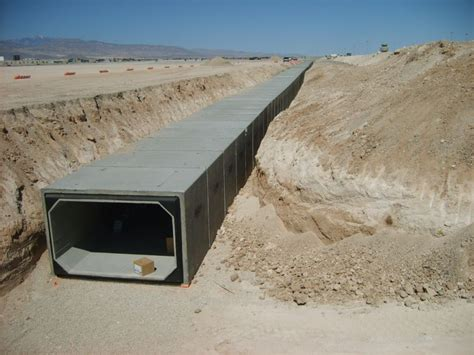 las vegas airport flood channel improvements