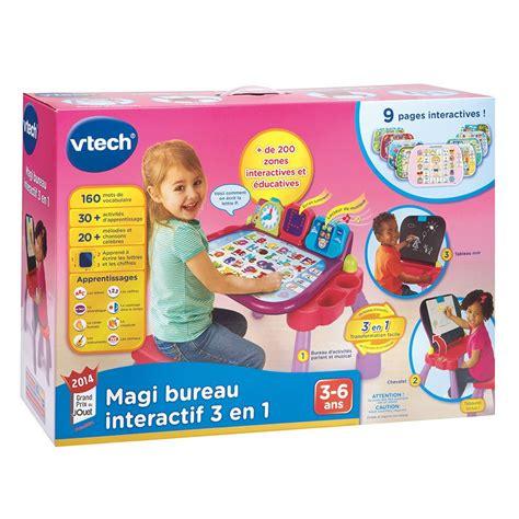 bureau coffre 3 en 1 magi bureau interactif 3 en 1 vtech jouets 1er 226 ge