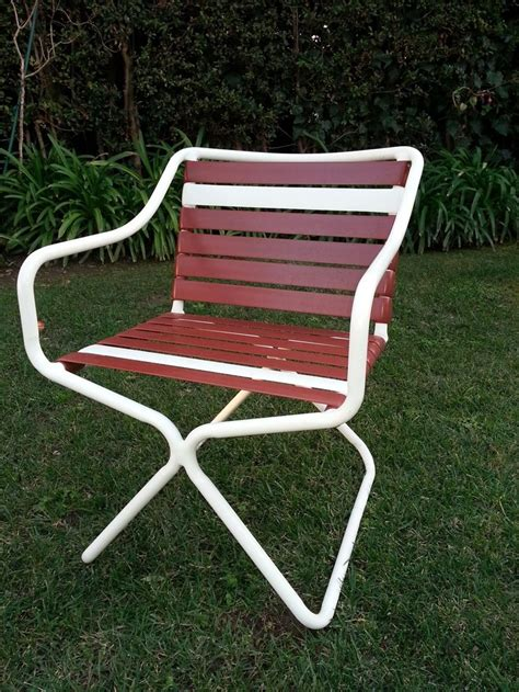 Tropitone Patio Chairs Tropitone Vintage White Mid Century Modern Rectangular Patio Table Patio Chairs Patio And Chairs