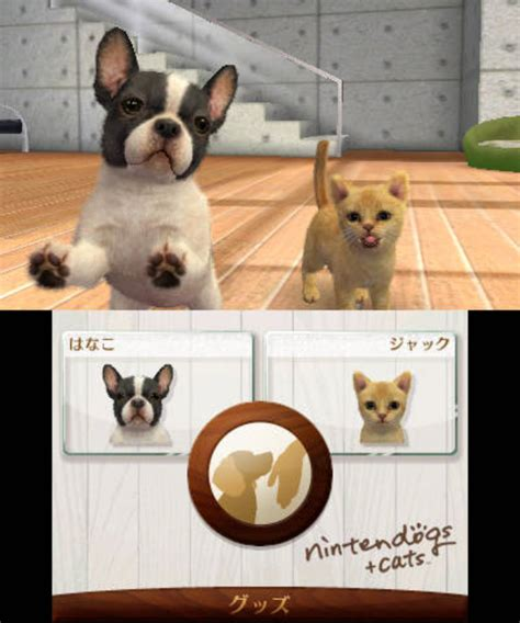 nintendo dogs nintendogs and cats breeds list 3ds