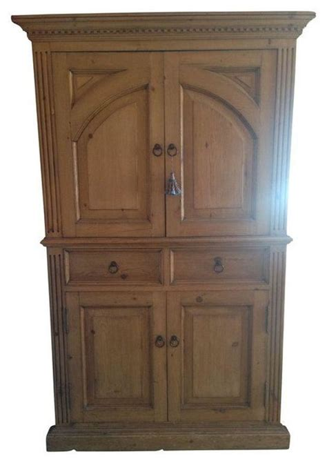 Rustic Pine Armoire by Rustic Pine Armoire Traditional Storage Cabinets By