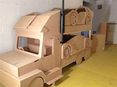 Bedrooms For Boy Sports Car Transporter Bunk Bed The Ultimate Cool Bunk