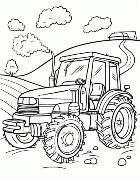 tractor coloring pages 20 free printable tractor coloring pages