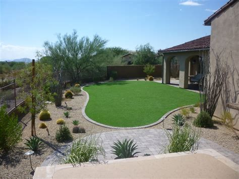 backyard landscaping phoenix artificial turf contemporary landscape phoenix by
