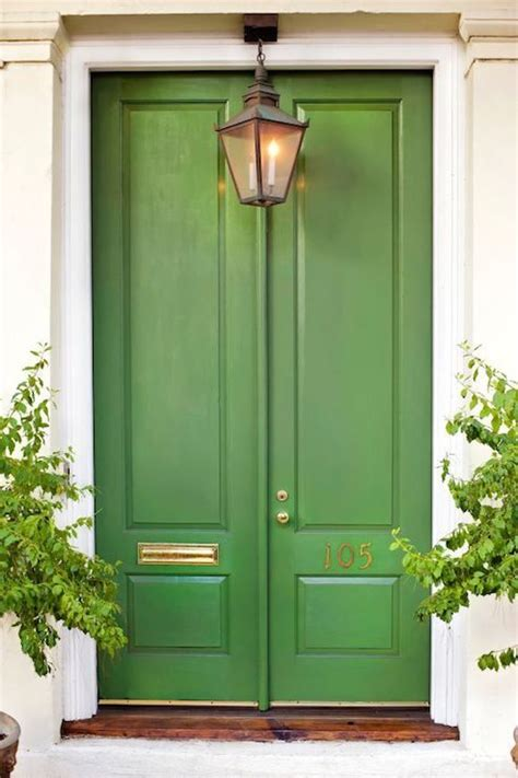 Green Glass Door Exles Front Door Drama Elements Of Style