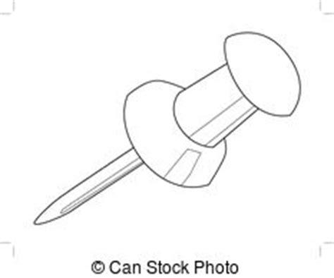 B Q Drawing Pins by Punaise Clipart Vectoriel Rechercher Illustration
