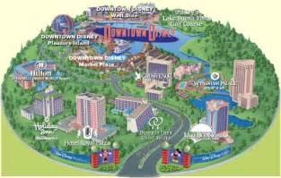 map of orlando florida near disney world hotel map