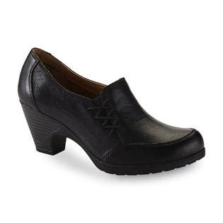 sears i love comfort shoes i love comfort women s willow black loafer shootie