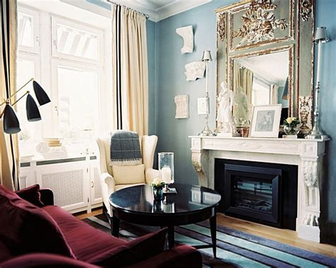 light blue and gold living room from navy to aqua summer decor in shades of blue