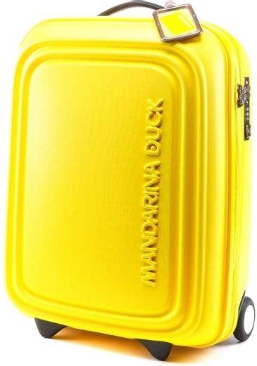 mandarina duck cabin luggage mandarina duck logoduck 54cm cabin carry on 2 wheel