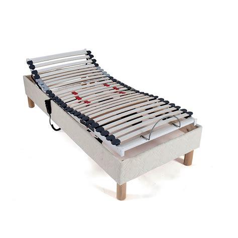 matelas pour lit electrique sommier 90 x 190 lit electrique de relaxation