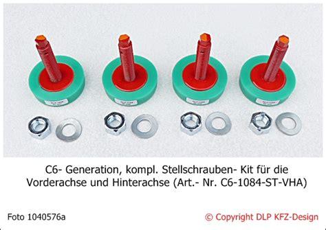 Tieferlegen österreich by Corvetteforum De Dlp C6 Generation Stellschrauben F 252 R