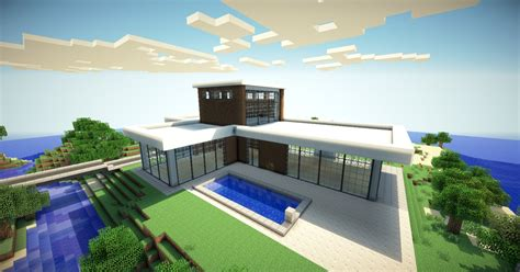 Home Design Diamonds modern mansion minecraft project