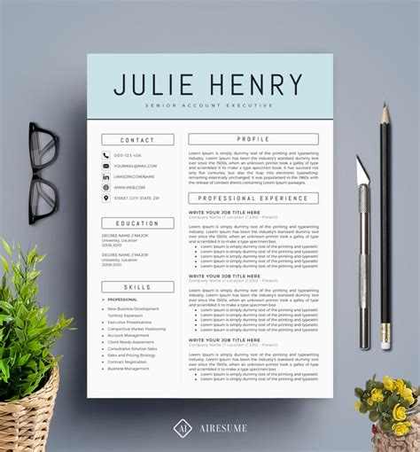 Design Resume Template by Best 25 Resume Template Ideas On
