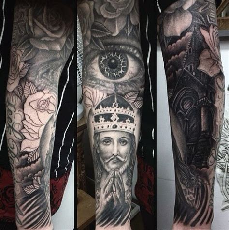 tattoo sleeve designs for men pictures 75 religious sleeve tattoos for spirit designs