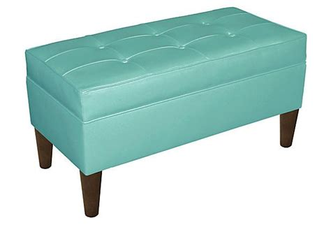 turquoise storage ottoman gorgeous turquoise brown storage ottoman interior design