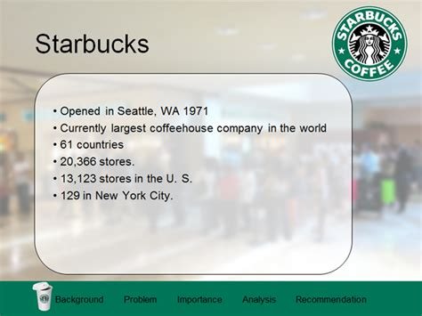 Starbucks Template Car Interior Design Starbucks Powerpoint Template