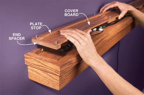 Wall Mounted Quilt Hanger by Woodworking Plans For Table Playhouse Theater