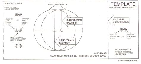 door knob template knobs etc llc help door preparation