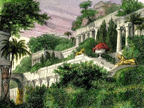 the hanging gardens were not in babylon the