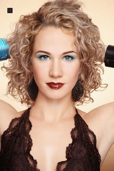spiral perm hairstyles for medium length hair and dark