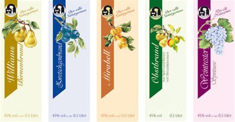 Flaschenetiketten Selbst Gestalten Schnaps by Wemaprint Branntweinetiketten Schnapsetiketten F 252 R