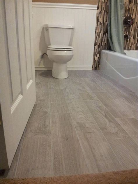 tiles bathroom wood tile floor small bathroom with wood