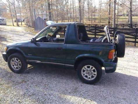 1999 Kia Sportage For Sale Buy Used 1999 Kia Sportage Base Convertible 2 Door 2 0l In