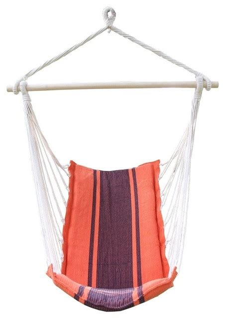 fabric swing chair cotton fabric hanging chair high back deluxe style