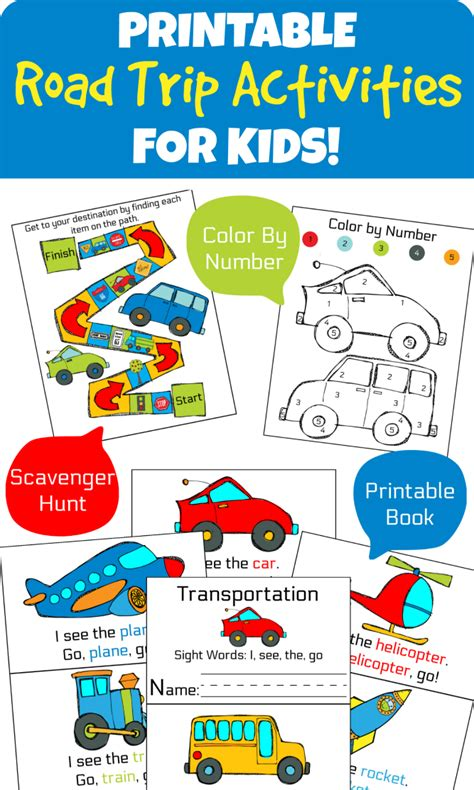 printable games for road trips the life of jennifer dawn road trip printable activities