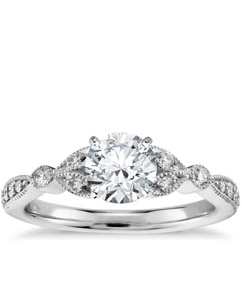 Antique Style Engagement Rings by 47 Stunning Vintage Engagement Rings Martha Stewart Weddings