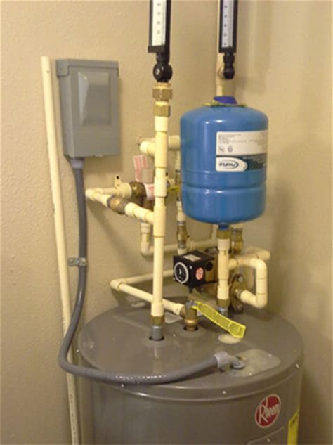 Plumbing Expansion Tank by Water Heater Repair Pictures And Information