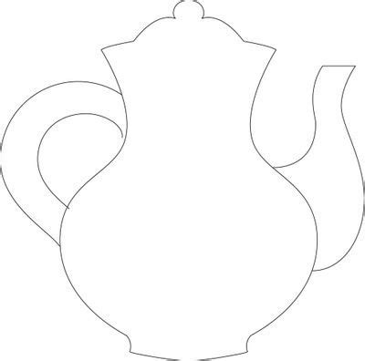 free printable teapot templates teapot template paper craft pinterest