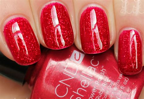 most famous gel polish the most popular shellac colour of all time ruby ritz