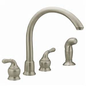 moen 2 handle kitchen faucet repair faucet 7786 in chrome by moen