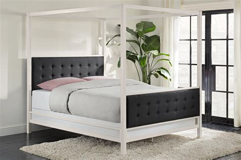 futon bedding dhp furniture soho modern canopy bed